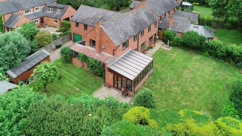 5 Bedrooms Detached House for sale in Birchwood Close, Coleorton, LE67