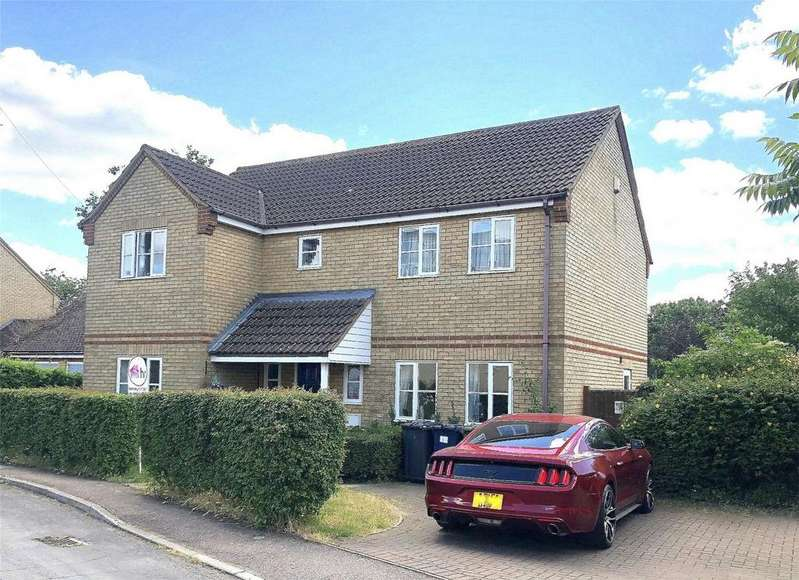 4 Bedrooms Detached House for sale in Asplins Lane, Offord Cluny, St Neots, Cambridgeshire