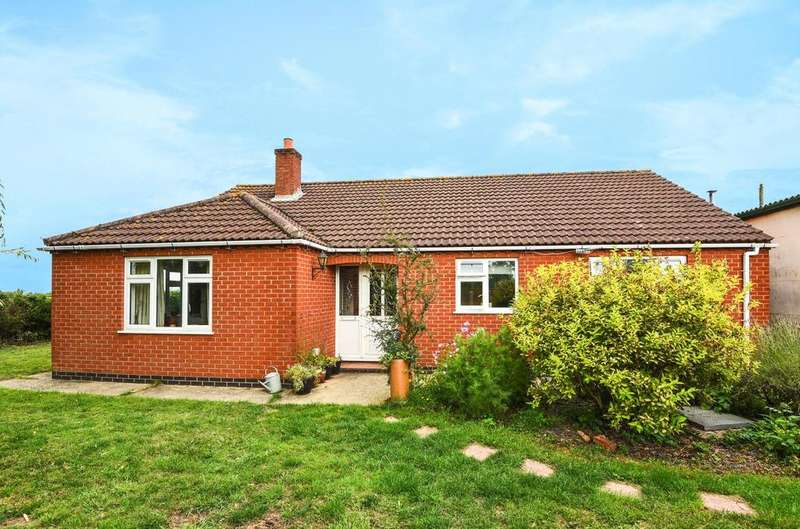 3 Bedrooms Detached Bungalow for sale in Fairways Garage, Louth Road, LN11