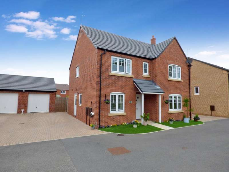 4 Bedrooms Detached House for sale in Nelson Way, Bidford On Avon