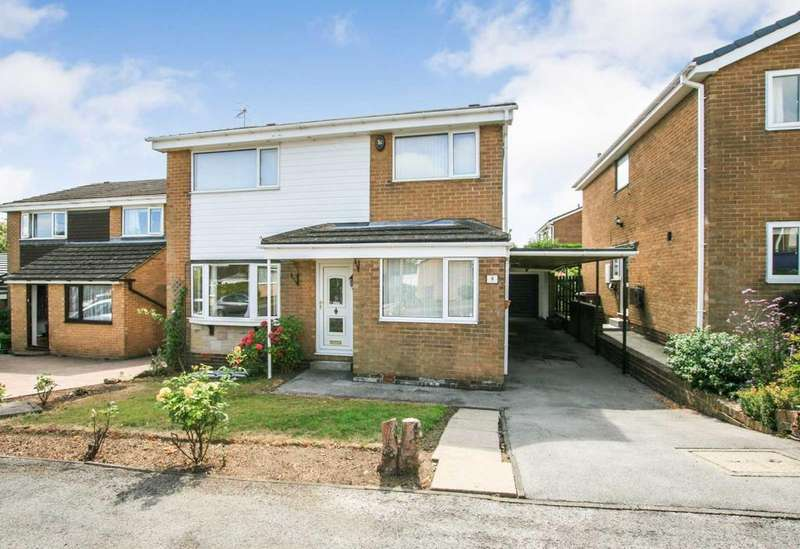 4 Bedrooms Detached House for sale in Ormesby Close, Dronfield Woodhouse, Derbyshire, S18 8QD