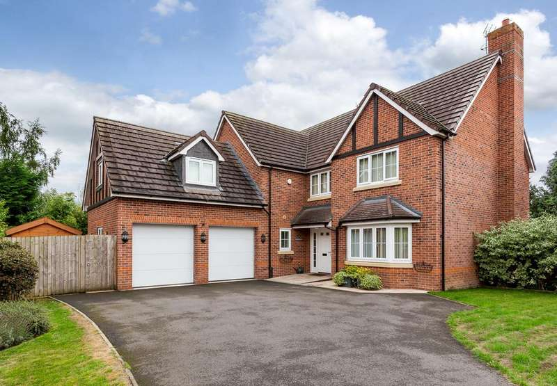 5 Bedrooms Detached House for sale in Wistaston, Cheshire