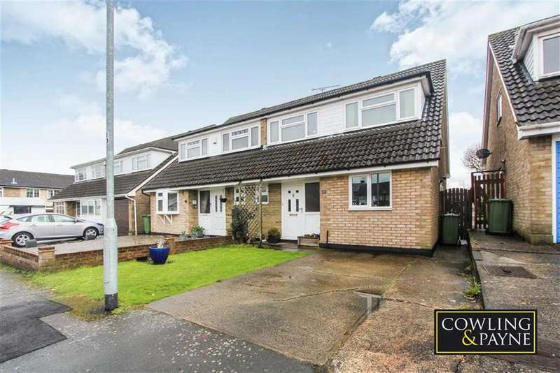 4 Bedrooms Semi Detached House for sale in Tudor Way, Wickford, Essex