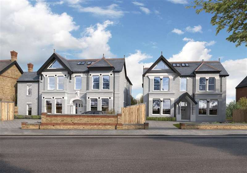 3 Bedrooms Flat for sale in Carlton Road, Ealing, London, W5 2AW