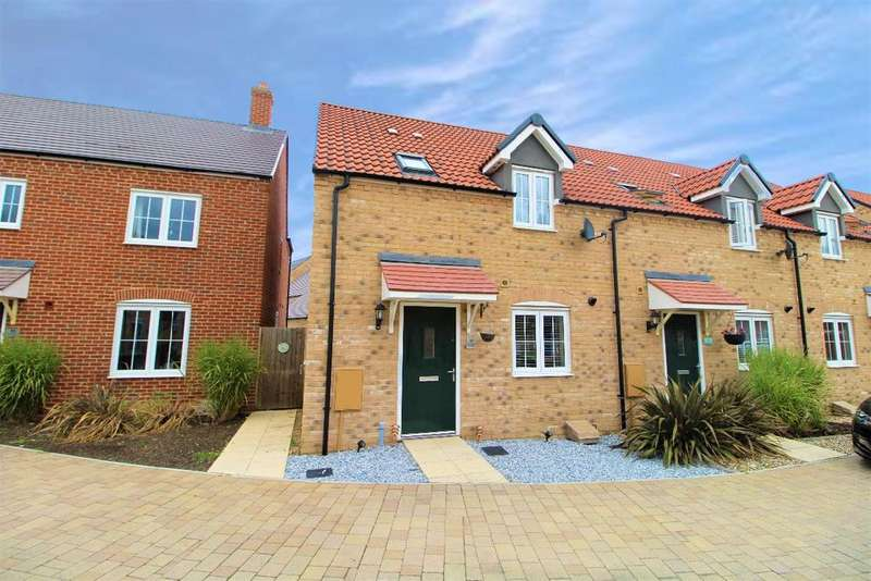 3 Bedrooms End Of Terrace House for sale in Brambling Gardens, Wixams MK42