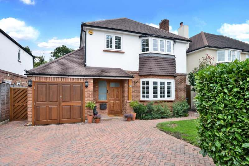 4 Bedrooms Detached House for sale in Basingfield Road, Thames Ditton, Thames Ditton, KT7