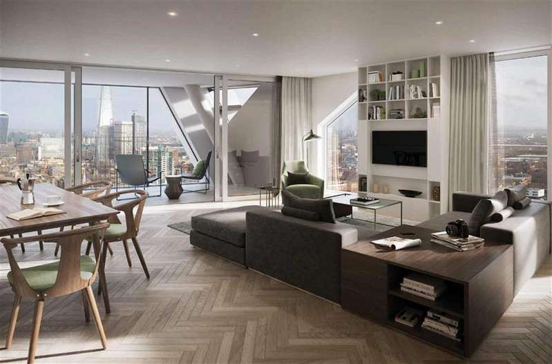 2 Bedrooms Apartment Flat for sale in Ontario Street, London