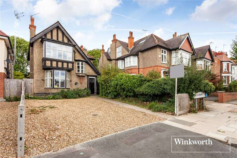 3 Bedrooms Detached House for sale in Dollis Park, Finchley, London, N3
