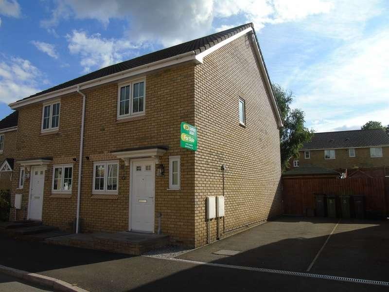 2 Bedrooms Semi Detached House for sale in Poplar Place, Llantarnam, Cwmbran