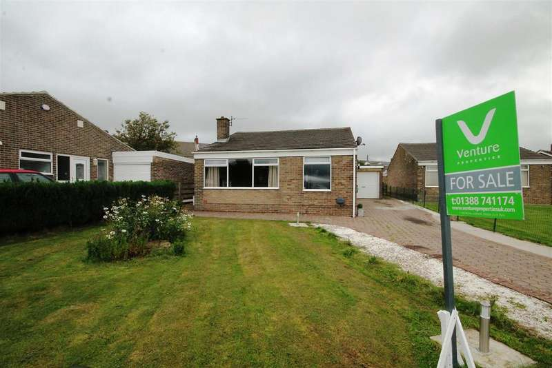 2 Bedrooms Detached Bungalow for sale in Valley Close, Tow Law, Bishop Auckland