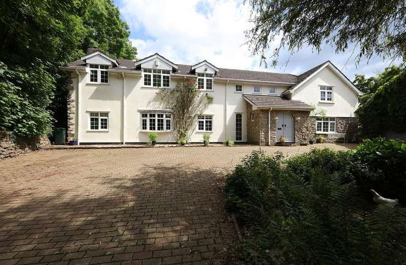 5 Bedrooms Detached House for sale in Tredodridge, Cowbridge