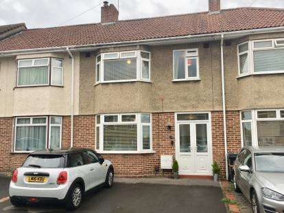 3 Bedrooms Terraced House for sale in Eastwood Road, Broomhill, Bristol, .