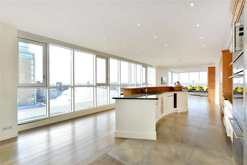 3 Bedrooms Flat for sale in Eaton House, 38 Westferry Circus, London