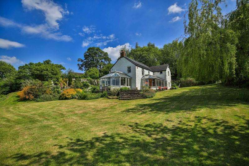 4 Bedrooms Farm House Character Property for sale in with Detached One Bedroom Cottage and Converted Barn on a Smallholding of approximately 12 Acres in a Superb Location