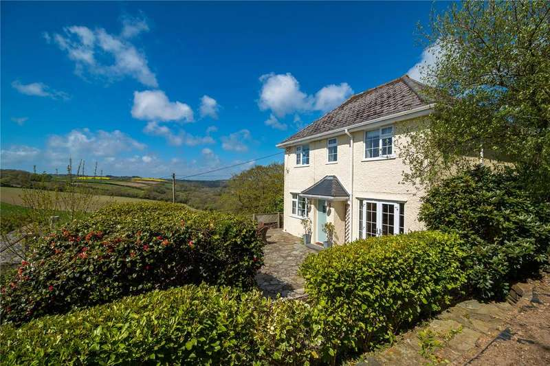 5 Bedrooms Detached House for sale in Philleigh, The Roseland, South Cornwall, TR2