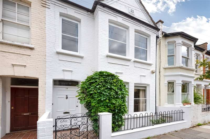 3 Bedrooms Terraced House for sale in Rainville Road, Fulham Broadway, Fulham, London, W6