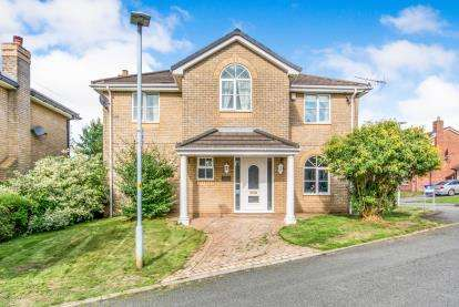 5 Bedrooms Detached House for sale in Aspen Wood, Hyde, Greater Manchester, United Kingdom