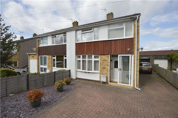 3 Bedrooms Semi Detached House for sale in St. Peters Crescent, Frampton Cotterell, BRISTOL, BS36 2EJ