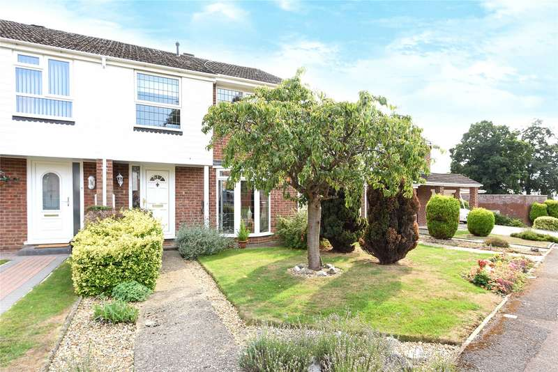 3 Bedrooms Terraced House for sale in Mitford Close, Reading, Berkshire, RG2