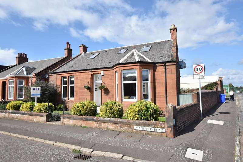 4 Bedrooms Detached Villa House for sale in 21 Mansfield Road, Prestwick, KA9 2DL