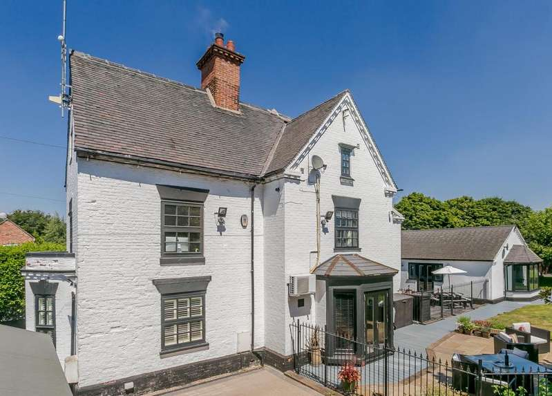 6 Bedrooms Detached House for sale in Yew Tree Lane, Thulston, Derbyshire