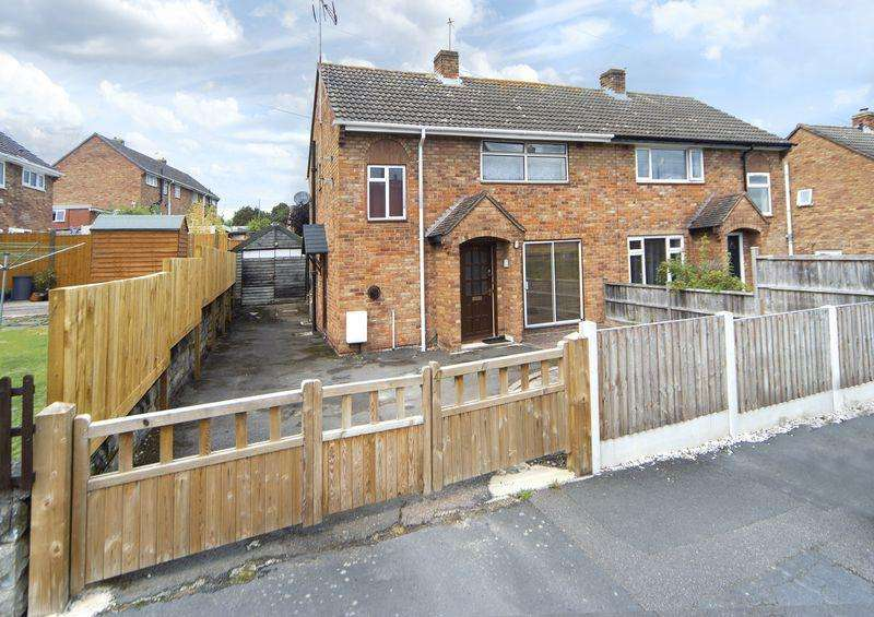 2 Bedrooms Semi Detached House for sale in Park View, Broseley, Shropshire.
