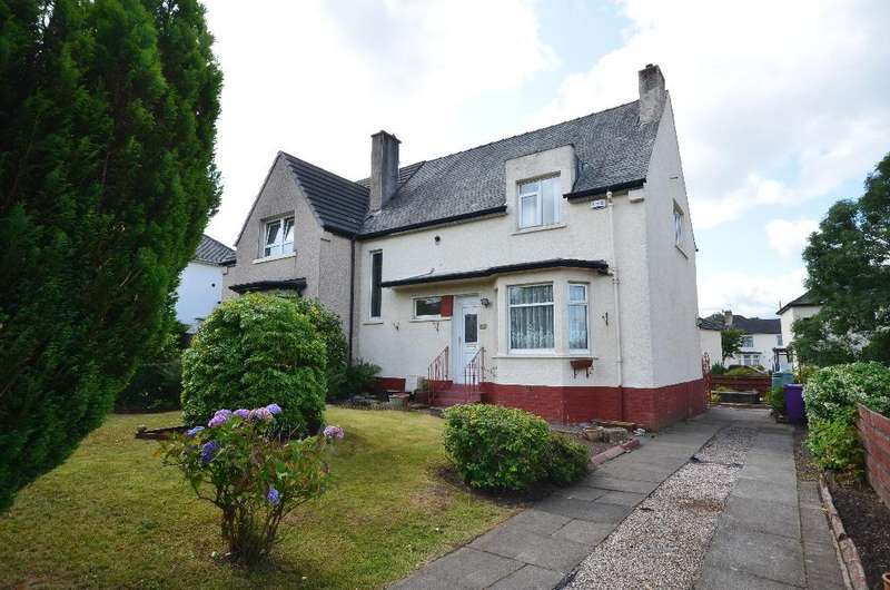 3 Bedrooms Semi Detached House for sale in Lincoln Avenue, Knightswood, Glasgow, G13 3RH