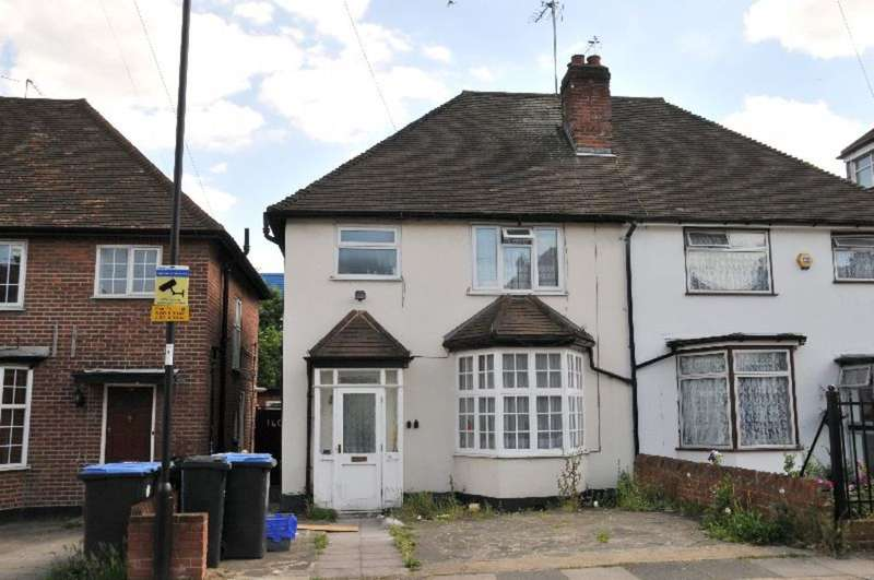 3 Bedrooms Semi Detached House for sale in Mitchell Road, Palmers Green, London, N13