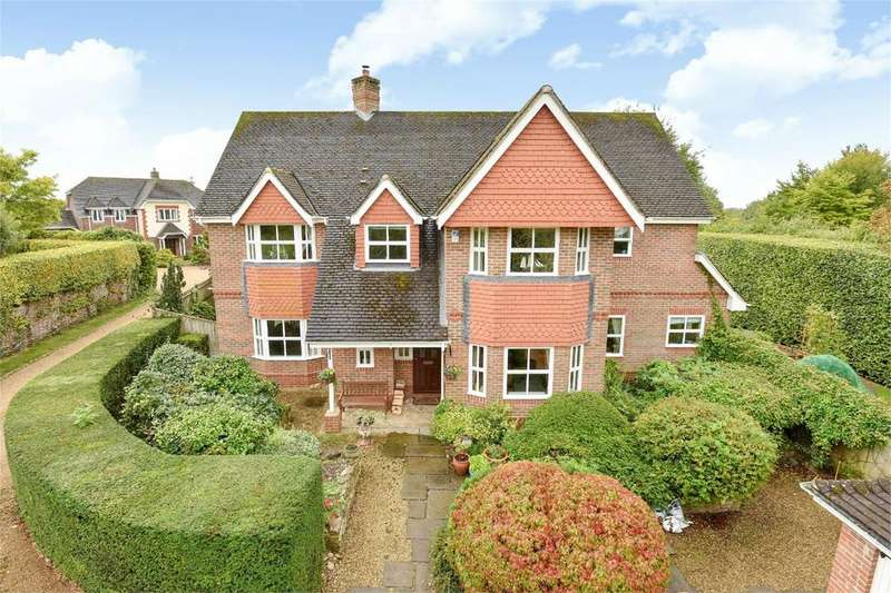 5 Bedrooms Detached House for sale in Little Hayes, Itchen Abbas, Winchester, Winchester, Hampshire, SO21