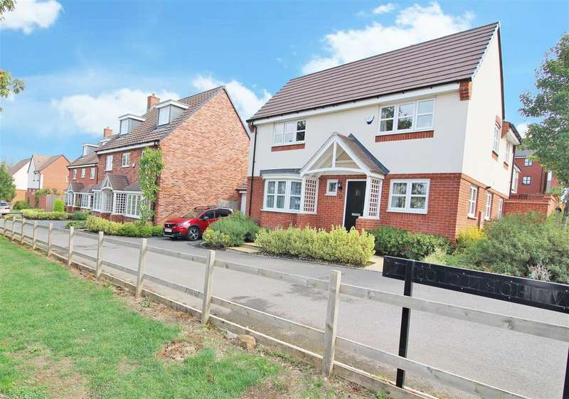 4 Bedrooms Detached House for sale in Hawthorn Close, Eden Park, Rugby