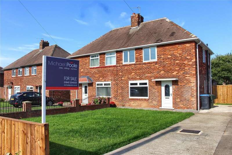 2 Bedrooms Semi Detached House for sale in Crossfell Road, Middlesbrough