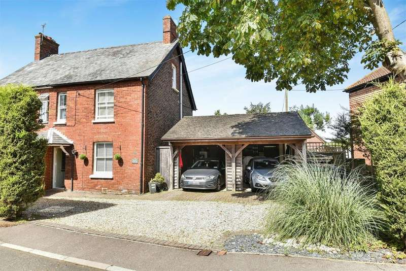4 Bedrooms Semi Detached House for sale in Mount Pleasant Road, Lindford, Hampshire, GU35