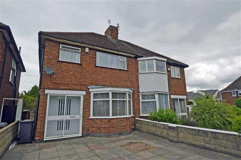 3 Bedrooms Semi Detached House for sale in Abbey Park Road, Leicester