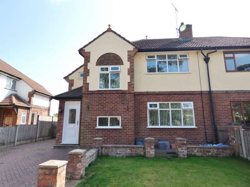 3 Bedrooms Semi Detached House for sale in Crossley Crescent, Hoole, Cheshire, CH2