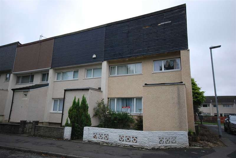 3 Bedrooms End Of Terrace House for sale in Newark Square, Kilwinning