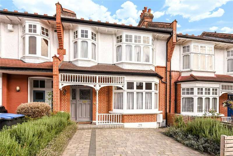 4 Bedrooms Terraced House for sale in Caversham Avenue, Palmers Green, London, N13