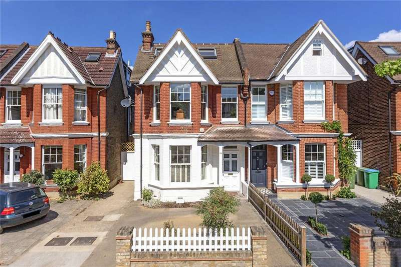 5 Bedrooms Semi Detached House for sale in Palewell Park, East Sheen, London, SW14