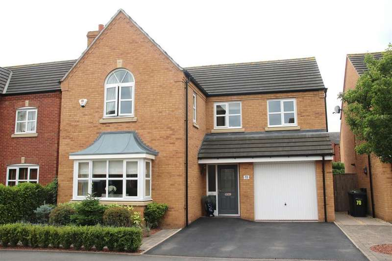 4 Bedrooms Detached House for sale in Lyon Drive, Tamworth