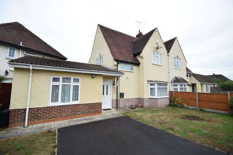 4 Bedrooms Semi Detached House for sale in Plackett Way, Cippenham, SL1