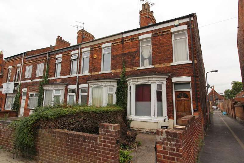 2 Bedrooms End Of Terrace House for sale in Lea Road, Gainsborough
