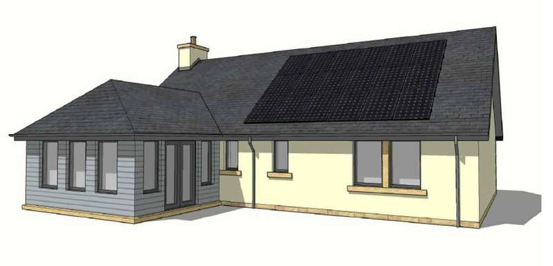 3 Bedrooms Detached Bungalow for sale in Birgham East, Scottish Borders