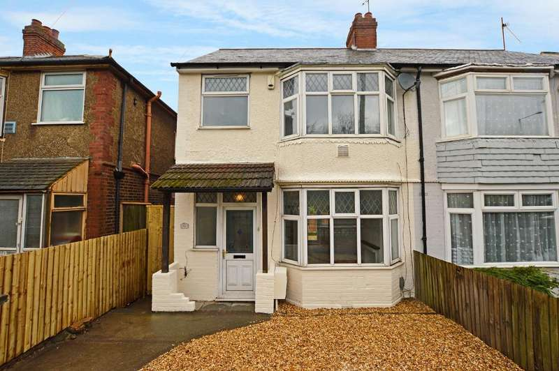 3 Bedrooms Semi Detached House for sale in Luton Road, Dunstable, Bedfordshire, LU5 4LG
