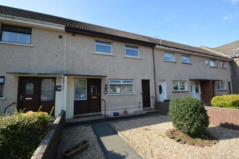 2 Bedrooms Terraced House for sale in Broomlands Drive, Irvine, North Ayrshire, KA12 0DX