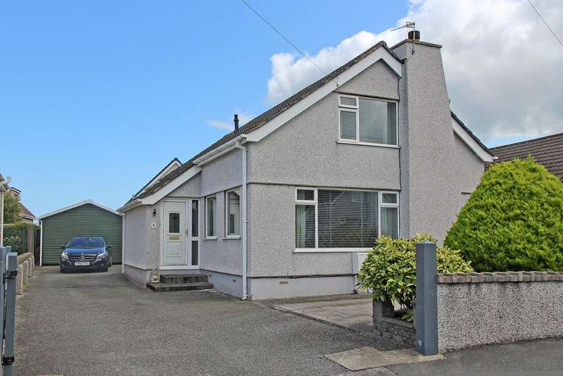3 Bedrooms Detached House for sale in Lon Hedydd, Llanfairpwll, North Wales
