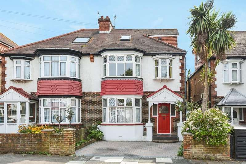 4 Bedrooms Semi Detached House for sale in Rothbury Road, Hove