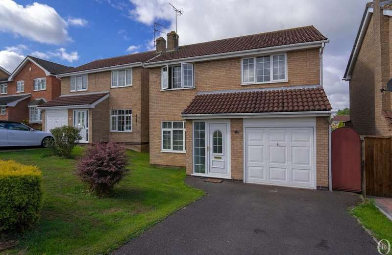 4 Bedrooms Detached House for sale in Somerset Drive, Glenfield, Leicester