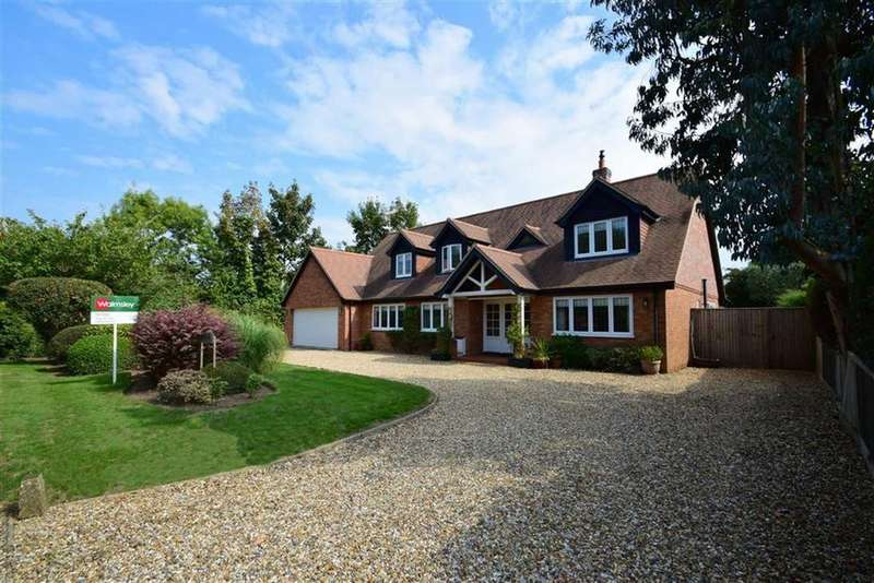 5 Bedrooms Detached House for sale in Horsepond Road, Gallowstree Common, Reading