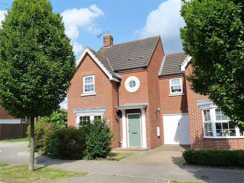 4 Bedrooms Detached House for sale in Langstone Ley, Welwyn Garden City