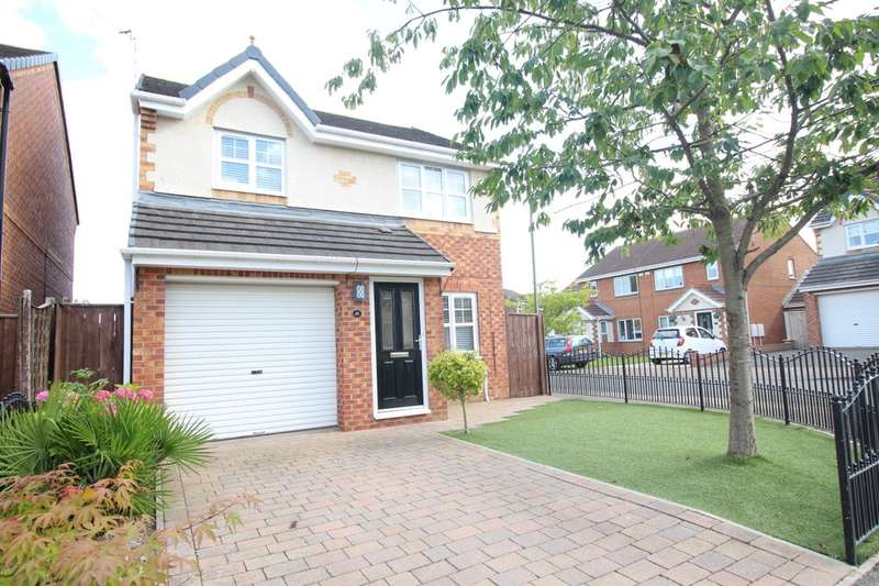 3 Bedrooms Detached House for sale in Balmoral Drive, Peterlee, SR8