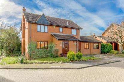 4 Bedrooms Detached House for sale in Milesmere, Two Mile Ash, Milton Keynes, Buckinghamshire